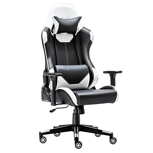 Alltmy Gaming Office Chair - Silla de Video, Computadora de Oficina...