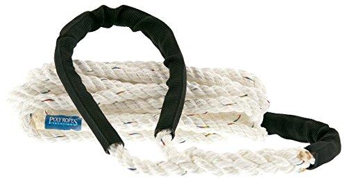 PolyRopes 3709260312Cuerda Arranque Unisex para Adulto, Color Blanco
