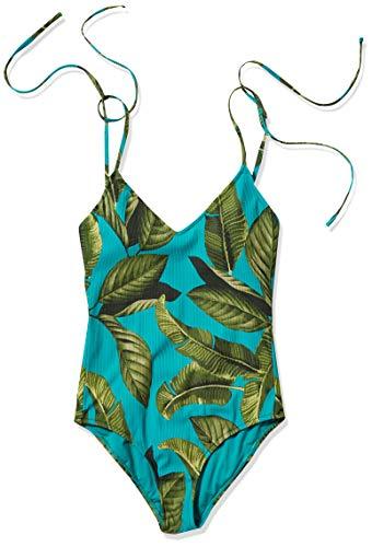 Rip Curl Junior's One Piece Swimsuit, Turquoise, L