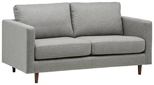 Amazon Marke -Rivet Revolve Modernes Sofabett, B 178cm, Grau gewebt