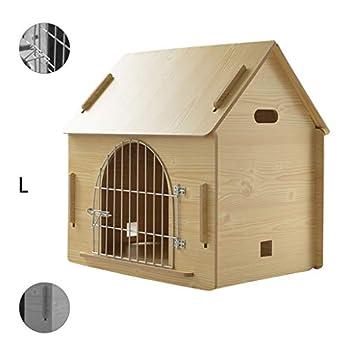 Cages et chenils Maison pour Animaux lit pour Animaux de Compagnie Villa pour Animaux de Compagnie Niche pour Chien en Plein air Litière pour Chat d'intérieur