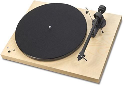 Pro-Ject Debut RecordMaster Plattenspieler Ahorn elek.33/45 RPM USB out Phono-Vorstufe
