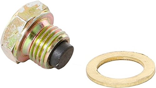 Tornillo de drenaje de aceite M18 x 1,5 con imán y junta Simson KR 51/1, S 50.