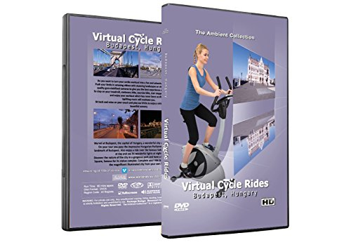 Virtual Cycle Rides DVD - Budapest, Hungary - for Indoor Cycling, Treadmill and Jogging Workouts