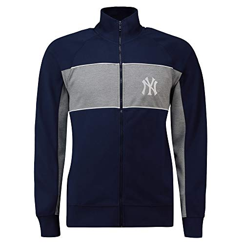 Fanatics MLB New York NY Yankees Cut Sew Track Jacket Chaqueta con cremallera