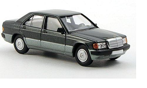 Mercedes 190 D (W201), metallic-dunkelgrün, 0, Modellauto, Fertigmodell, Brekina Starmada 1:87