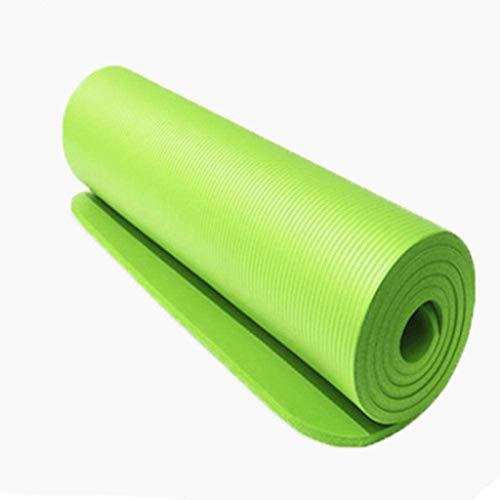 AFQHJ Yoga-Matte 1830 * 610 * 10mm BR Yoga-Matte Teppich Handtuch Matratze Sport balace Massage Fitess Spiel Matte Tasche Yoga-Fitness-Studio Gree Yoga Matte