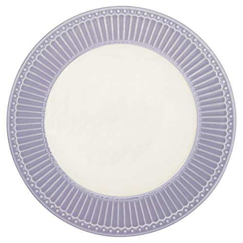 GreenGate - Teller, Frühstücksteller, Kuchenteller - Alice - Lavender - 23 cm