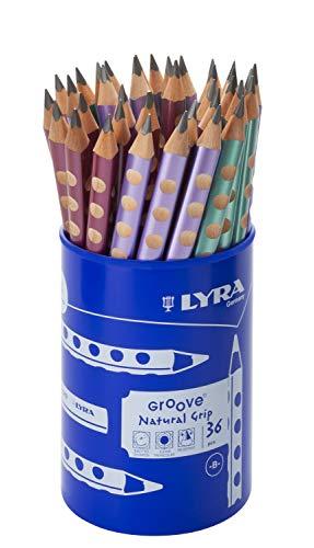 LYRA GROOVE Jumbo Graphit B Dose RP36 Metallic