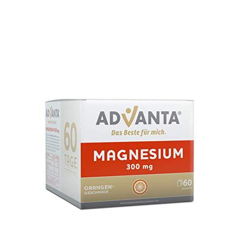 ADVANTA Magnesium 300 mg Trinkgranulat, Orangengeschmack, 60 Tage Vorratspackung