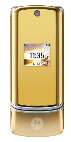Motorola MOTOKRZR K1 Gold Handy
