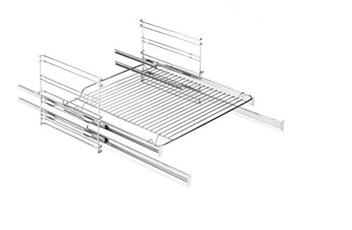 Amica 71 Backofen und Herdzubehör/Kochfeld/Setzt ein im Gerät voraus/Seitengitter mit 2-fach Teleskopauszügen, Teilauszüge
