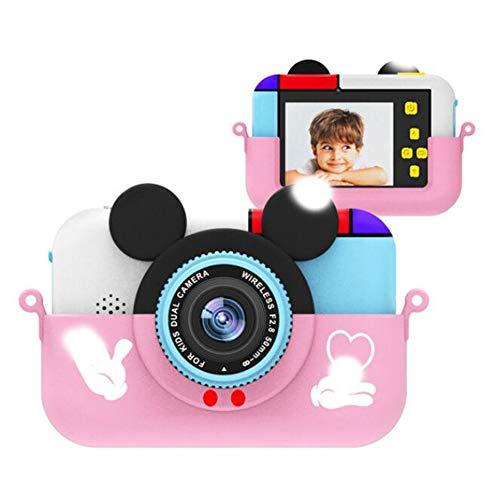 OnePro Mini cámara Digital para niños, micrófono, Pantalla IPS de 2,4 Pulgadas, 1080P, cámara HD, vídeo, Selfie, Mini SLR, cámara de Juguete para niños, Regalo de cumpleaños
