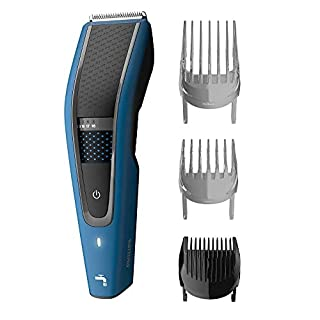 Philips Washable Hair Clipper Series 5000 with 28 Length Settings (0.5-28mm) and 75 min Cordless Use/8hr Charge, HC5612/15 (B0864YV9P1)   Amazon price tracker / tracking, Amazon price history charts, Amazon price watches, Amazon price drop alerts