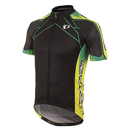 PEARL IZUMI Men's Ride Elite Pursuit LTD Jersey, Vaporize Black, Medium