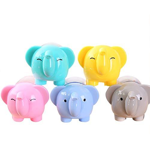Oyfel Radiergummi mit niedlichem Elefanten-Bleistift-Radiergummi, Schreibwaren, für Schule, Büro, Kinder, Studenten, DIY Zeichnen, 5 Stück