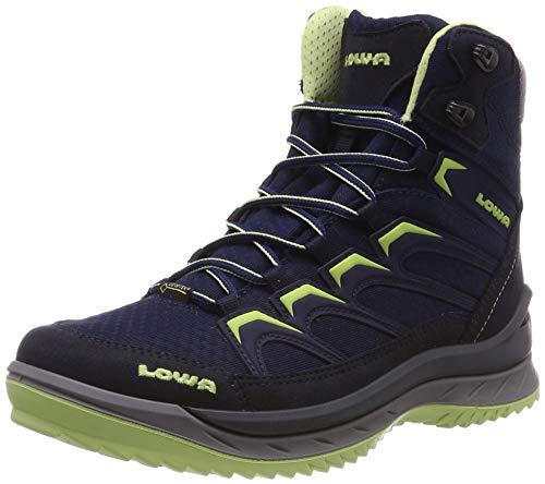 Lowa Damen Innox Ice GTX MID WS Trekking-& Wanderstiefel, Blau (Navy/Menta 6908), 41.5 EU