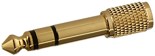 Sennheiser 1/4' Adapter - 549346 Authentic Genuine Universal 6.35mm Adapter Jack - 3.5mm (1/8 Inch) to (1/4 Inch)