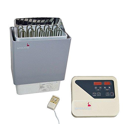 Saunaofen 6 kW mit digitaler externer Steuerung, 380V