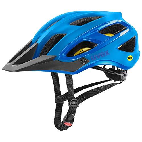 uvex Unbound Casco de Bicicleta, Adultos Unisex, Teal Black Mat, 54-58 cm