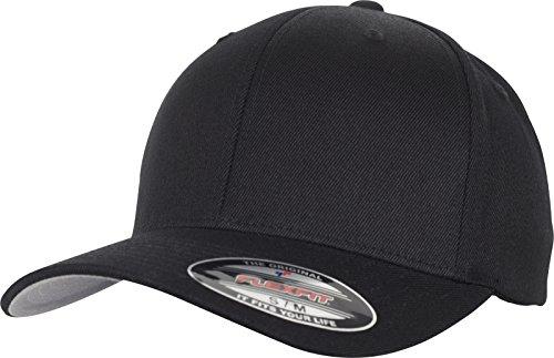 Flexfit Wool Blend Cap, Black, L/XL