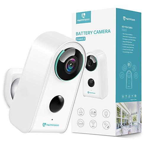 HeimVision HMD3 1080P Caméra Surveillance Extérieure WiFi Sans Fil Batterie Rechargeable Solaire,...