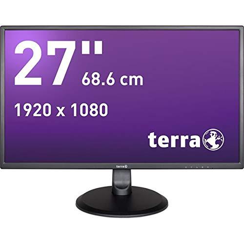 Terra 3030041 2747W LED-Monitor 68.6cm (27 Zoll) EEK E (A-G) 1920 x 1080 Pixel Full HD 5 ms DVI, HDMIÂ