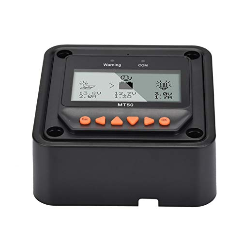 Evonecy Mt-50, medidor Remoto Mt-50, Pantalla LCD compacta y Firme Antideslizante Medidor Remoto Mt-50, Uso Profesional de Uso General para la fábrica de componentes electrónicos