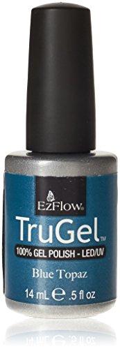 Ezflow Trugel Vernis à Ongles Blue Topaz