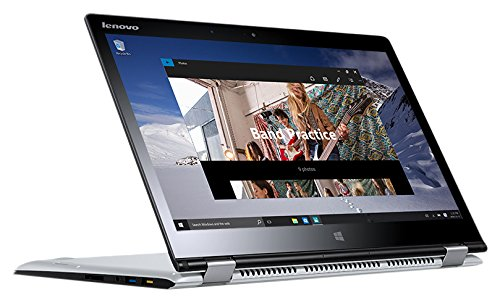 Lenovo Yoga 710-14ISK 2.3GHz i5-6200U 14' 1920 x 1080Pixel Touch screen Argento Ibrido (2 in 1)