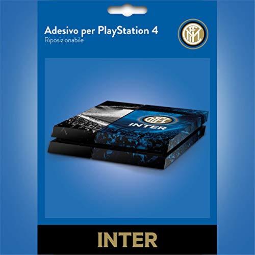 Imagicom Inter Sticker per Console PS4, PVC, Multicolore, 24x34