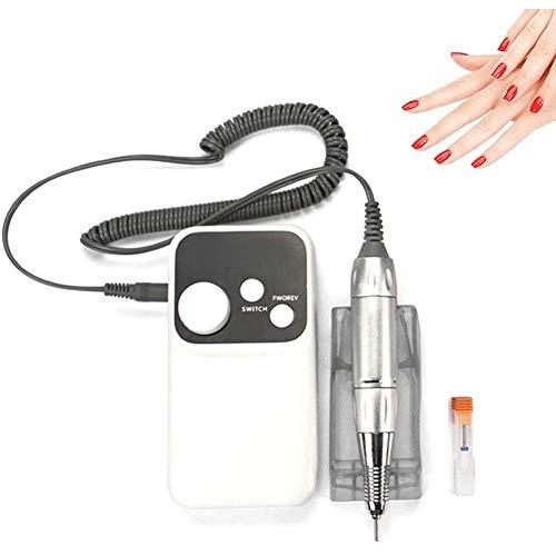 ZHANGXJ Moderne Électrique Ongles Machine à Poncer Ponceuse Nail Drill Machine 35000RPM pour Manucure Pédicure Puissante Silencieuse et sans Gel Acrylique