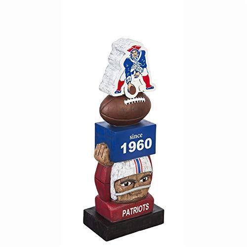Team Sports America New England Patriots - Estatua de los Tiki Totem de la NFL