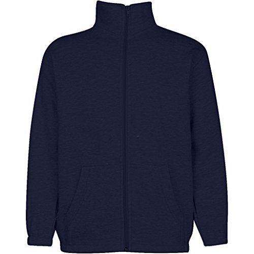 Premium Men's Full Zip Sweatshirt – Stylish, Versatile & Comfortable Casual Wear Navy