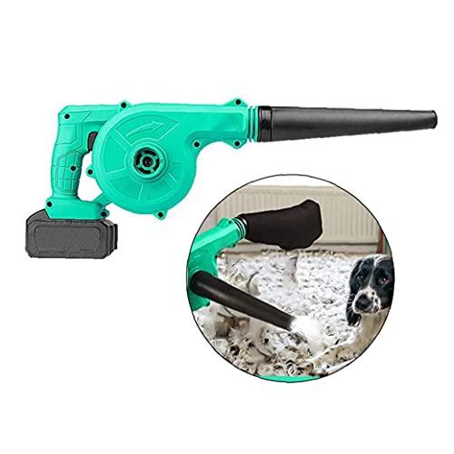 LjzlSxMF Inalámbrico soplador de Hojas, Hoja eléctrica del vacío Handheld Sweeper 2...