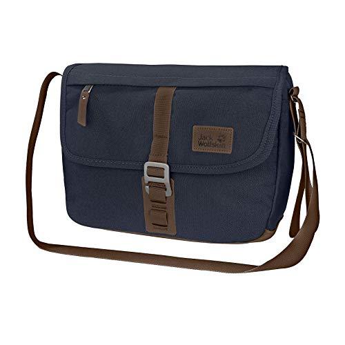 Jack Wolfskin Unisex-Erwachsene Warwick Ave sac à bandoulière Umhängetasche, Blau (night blue), One Size
