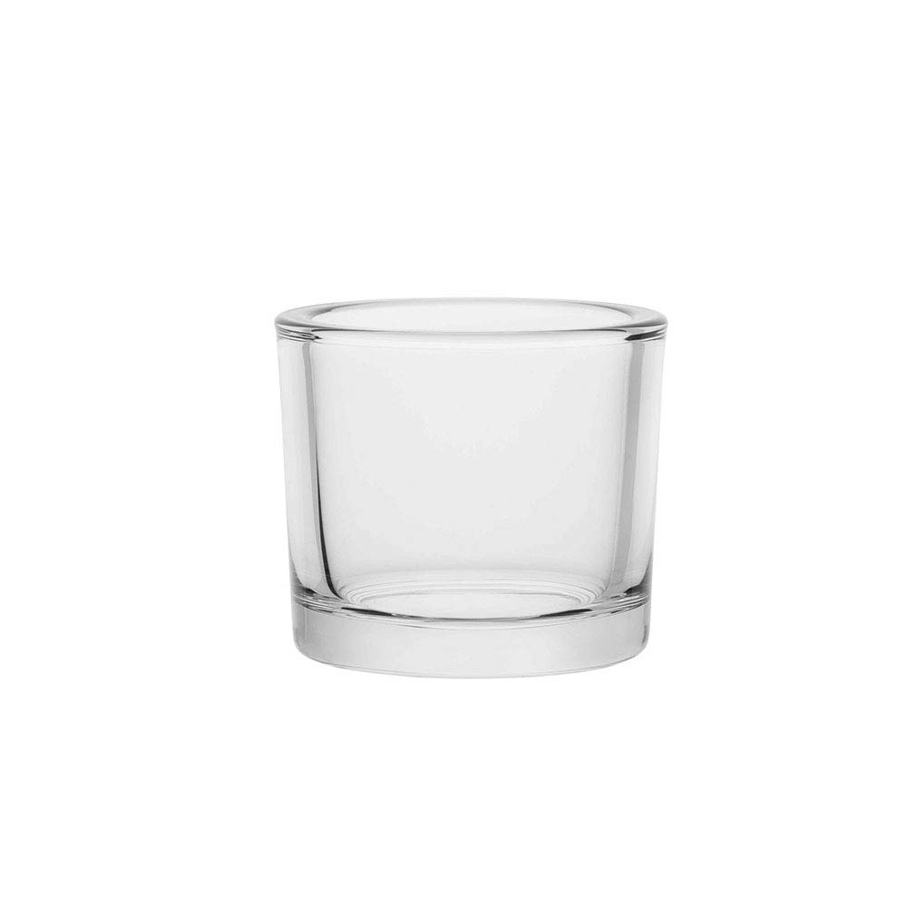 Set of 6 8.4 oz. Commercial Hospitality Glass Candle Holder