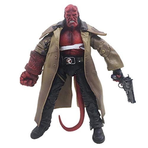 CAFELE 6 inch Men's Hellboy Action Figure Pop Collectible Gift Toy for Decoration