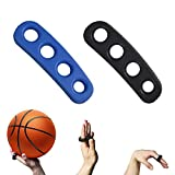Haploon Basketball Shooting Trainer Aid 5.3 Inch Basketball Training Equipment Basketball Trainer for Youth and Adult, Pack of 2, Blue and Black(L)