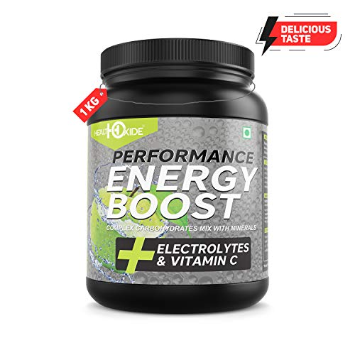 Nutricore'S Energy Boost Extra Power Energy Drink (Green Apple) - Size : 1 Kg