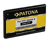 Batería BG32100 BG-32100 para HTC A9393   Desire S   Desire Z   7 Mozart   A7272   C510e   Incredible S   Salsa   T8699   Vision   S510e   S710e   S710d   S715E y mucho más… [ Li-ion; 1600mAh; 3.7V ]