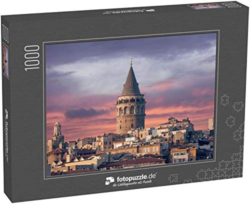 Puzzle 1000 Teile Galata Tower in Istanbul Türkei - Klassische Puzzle, 1000/200/2000 Teile, in edler Motiv-Schachtel, Fotopuzzle-Kollektion 'Türkei'