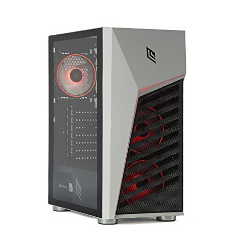 MAK CLASH – Ordenador de sobremesa para videojuegos completo Ryzen 5 3350G, GTX 1650 4 GB, RAM 16 GB 3200 MHz, SD NVMe 250 GB + HDD 1 TB, Windows 10/ordenador de gaming montado
