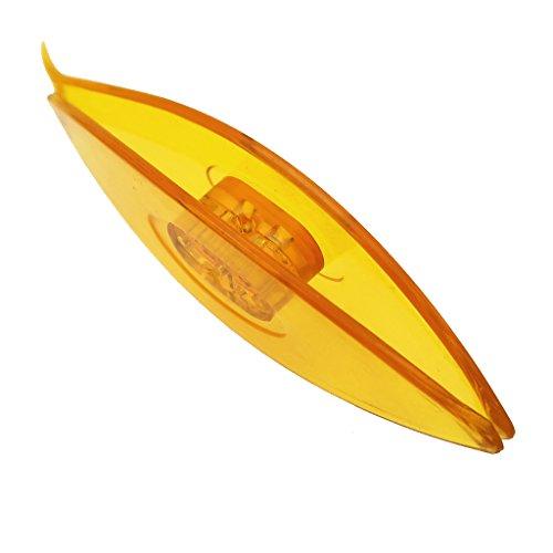 B Blesiya Groß Occhi Schiffchen, aus ABS Kunststoff, Mehrfarbig - Gelb
