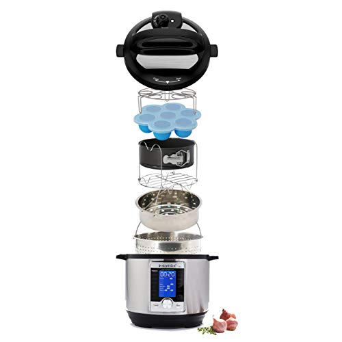 18 Piece Instant Pot/Pressure Cooker Accessories Set- Dishwasher Safe, BPA Free, fits 5/6 /8 Quart pots- Quality Silicone and Stainless Steel- Durable nonstick Items- Compact Set for Easy Cooking