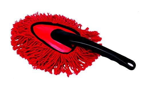 L'Objet du Monde Prodmaison Spolverino in fibra di cotone per auto, colori: Rosso e Nero