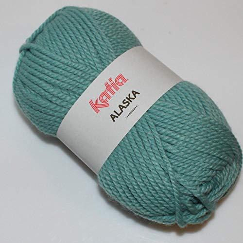 Lanas Katia Alaska Ovillo de Color aguamar