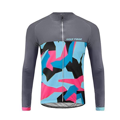 Uglyfrog Lange Ärmel Trikots & Shirts Herren Radsport Bekleidung Autumn Sport & Freizeit MTB Top