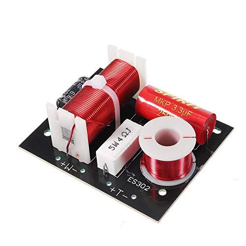 Módulo electrónico HIFI Crossover for hablantes de bricolaje divisor de frecuencia de audio for altavoces 3-8 pulgadas for 3pcs 4-8ohm Altavoz Amplificador 3200Hz Equipo electrónico de alta precisión