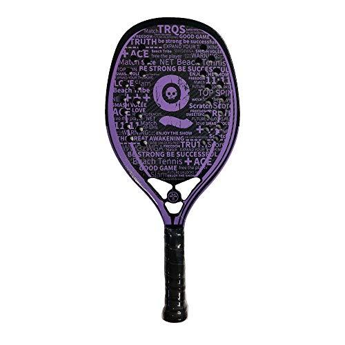Turquoise Racchetta Beach Tennis Racket Black Death Pro 2021 (Purple)